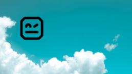 Robot Framework logo taivaalla